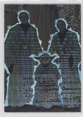 1995 Topps Star Wars Galaxy Series 3 Etched Foil #18 - [Missing]