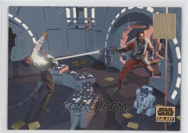 1995 Topps Star Wars Galaxy Series 3 LucasArts Foil #L10 - Lucasarts
