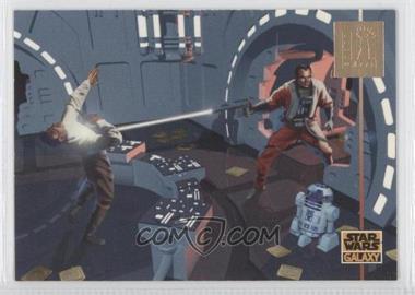 1995 Topps Star Wars Galaxy Series 3 LucasArts Foil #L10 - [Missing]