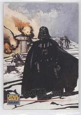 1995 Topps Star Wars Galaxy Series 3 Promos #P3 - Darth Vader