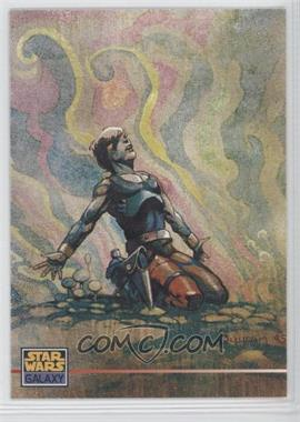 1995 Topps Star Wars Galaxy Series 3 Promos #P4 - Star Wars Galaxy Series 3 Promo