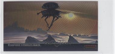 1995 Topps Star Wars: The Empire Strikes Back Widevision - Finest Chromium #C-1 - The Spider-Like, Imperial Probot Floats...