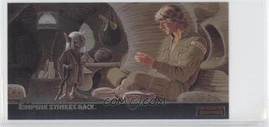 1995 Topps Star Wars: The Empire Strikes Back Widevision Finest Chromium #C-5 - Wizened Jedi Master Yoda...