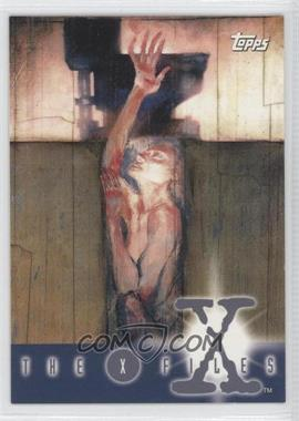1995 Topps The X Files Season 1 Promos #P3 - Reaching from Hole