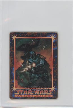 1996 Metallic Impressions Star Wars Dark Empire II - [Base] #2 - Duel on Nar Shaddaa