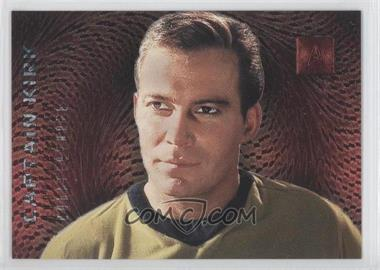 1996 SkyBox 30 Years of Star Trek Phase 2 Doppelgangers #F1 - Captain Kirk