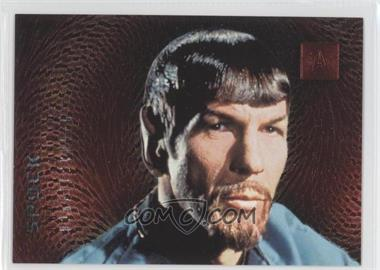 1996 SkyBox 30 Years of Star Trek Phase 2 Doppelgangers #F2 - Spock