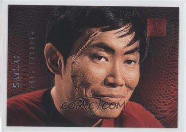 1996 SkyBox 30 Years of Star Trek Phase 2 Doppelgangers #F3 - Sulu