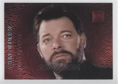 1996 SkyBox 30 Years of Star Trek Phase 2 Doppelgangers #F5 - Riker