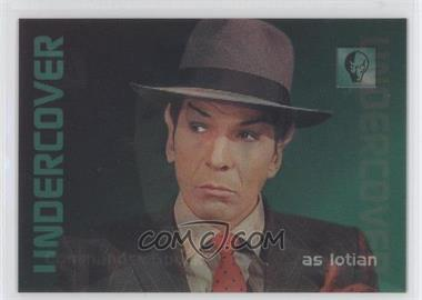 1996 SkyBox 30 Years of Star Trek Phase 2 Undercover Personnel #L2 - Commander Spock
