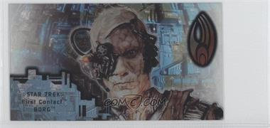 1996 SkyBox Star Trek: First Contact Cinema Collection - Techno-Cell Borg #B11 - Borg