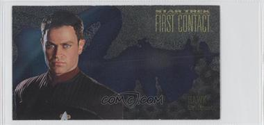 1996 SkyBox Star Trek: First Contact Cinema Collection Characters #C8 - Lt. Hawk
