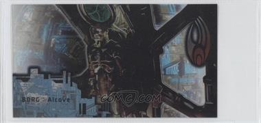 1996 SkyBox Star Trek: First Contact Cinema Collection Techno-Cell Borg #B8 - Borg Alcove