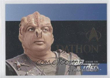 1996 SkyBox Star Trek The Next Generation Season 5 - [???] #S28 - Dathon