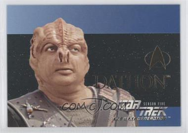 1996 SkyBox Star Trek The Next Generation Season 5 [???] #S28 - Dathon