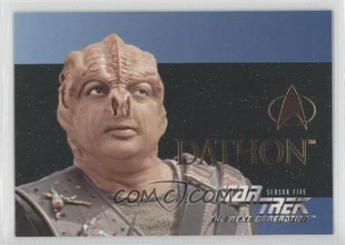 1996 SkyBox Star Trek The Next Generation Season 5 [???] #S28 - [Missing]