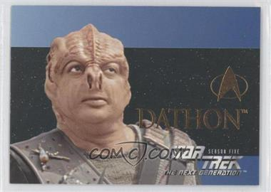 1996 SkyBox Star Trek The Next Generation Season 5 [???] #S28 - [Missing]