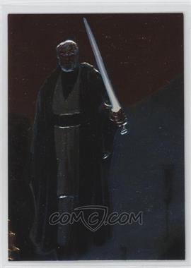 1996 Topps Finest Star Wars - Embossed Foil #F3 - Obi-Wan Kenobi