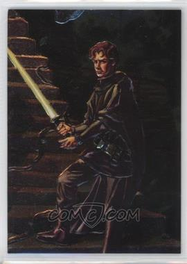 1996 Topps Finest Star Wars - Embossed Foil #F6 - Jacen Solo