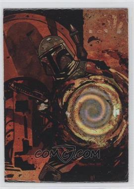 1996 Topps Finest Star Wars - Matrix #4 - Boba Fett