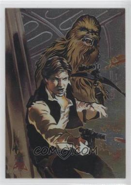 1996 Topps Finest Star Wars Binder Bonus Refractor #1 - [Missing]