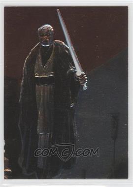 1996 Topps Finest Star Wars Embossed Foil #F3 - Obi-Wan Kenobi