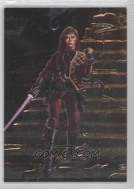 1996 Topps Finest Star Wars Embossed Foil #F4 - Jaina Solo
