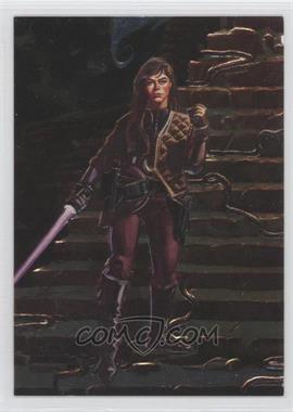 1996 Topps Finest Star Wars Embossed Foil #F4 - [Missing]