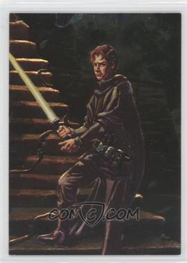 1996 Topps Finest Star Wars Embossed Foil #F6 - Jacen Solo