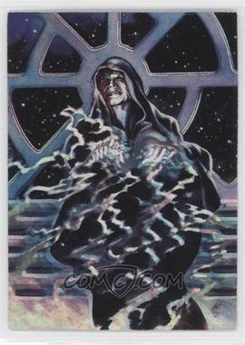 1996 Topps Finest Star Wars Matrix #3 - Emperor Palpatine