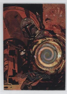 1996 Topps Finest Star Wars Matrix #4 - Boba Fett
