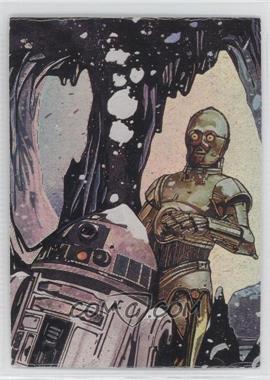 1996 Topps Finest Star Wars Matrix #M2 - [Missing]