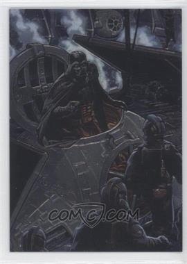 1996 Topps Finest Star Wars Promos #SWF2 - Darth Vader