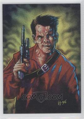 1996 Topps Finest Star Wars Refractor #67 - Dr. Evazan