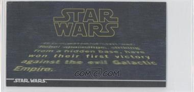 1996 Topps Star Wars 3Di Widevision MultiMotion #1 - [Missing]