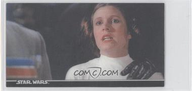 1996 Topps Star Wars 3Di Widevision MultiMotion #25 - Leia's Ordeal!