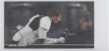1996 Topps Star Wars 3Di Widevision #34 - Han Solo'S Bluff!