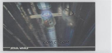 1996 Topps Star Wars 3Di Widevision #37 - The Power Generator Trench!