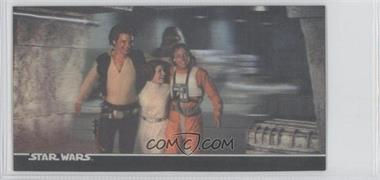 1996 Topps Star Wars 3Di Widevision #61 - The Victorious Rebels!