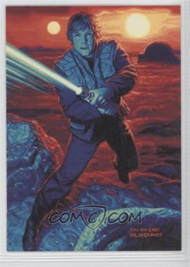 1996 Topps Star Wars: Shadows of the Empire Promos #SOTE3 - Luke Skywalker