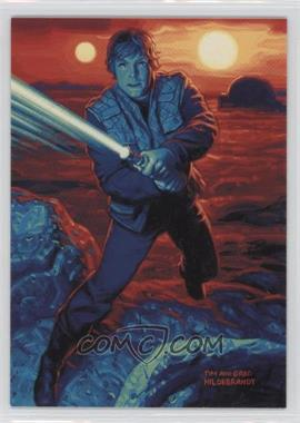 1996 Topps Star Wars: Shadows of the Empire Promos #SOTE3 - Luke Skywalker