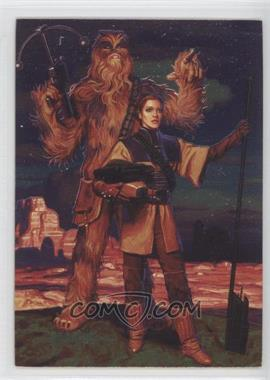 1996 Topps Star Wars: Shadows of the Empire #74 - Leia & Chewbacca