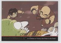 Gohan and Krillin's Speed Greatly Surpasses Guldo's Expectations.