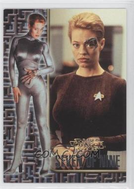 1998 Skybox Star Trek Voyager: Profiles [???] #9 - [Missing]