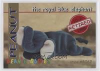 Retired - Peanut the Royal Blue Elephant