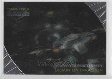 1999 Skybox Star Trek Deep Space Nine: Memories from the Future - [???] #SB7 - Dominion Invasion