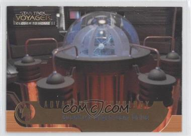 1999 Skybox Star Trek Voyager: Closer to Home Advanced Technology #AT7 - [Missing]