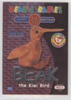 Birthday or Rookie - Beak the Kiwi Bird