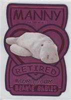 Retired - Manny the Manatee /7200