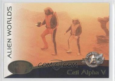 2000 Skybox Star Trek: Cinema 2000 - Alien Worlds #AW02 - Ceti Alpha V